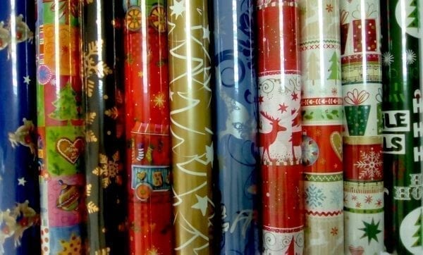 hartie impachetat cadouri 2mx70cm motiv iarna