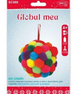 set creativ de craciun globul meu daco