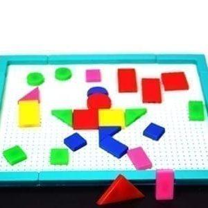 jocul figurilor geometrice didactic jd12