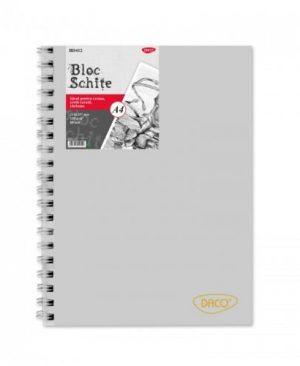 bloc schite a4 daco 80 file