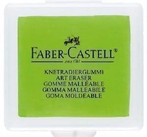 radiera faber castell fluorescenta tip miez de paine
