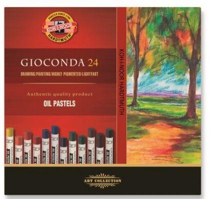 creta oil pastel giconda 24 culori