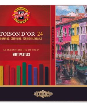 Set creta pastel Toison D'or 36 culori