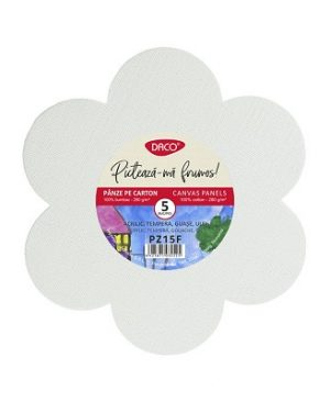 panza pictura pe carton floare set 5