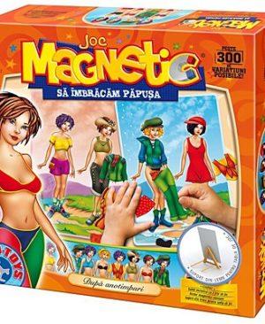 Joc magnetic sa imbracam papusa d toys