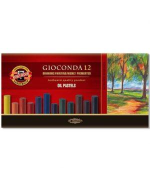 Set creta Koh-I-Noor Oil Pastel Gioconda 12 culori