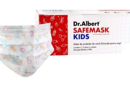 Masca protectie pentru copii set 30