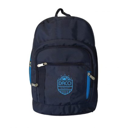 Ghiozdan sport Daco 44 cm albastru